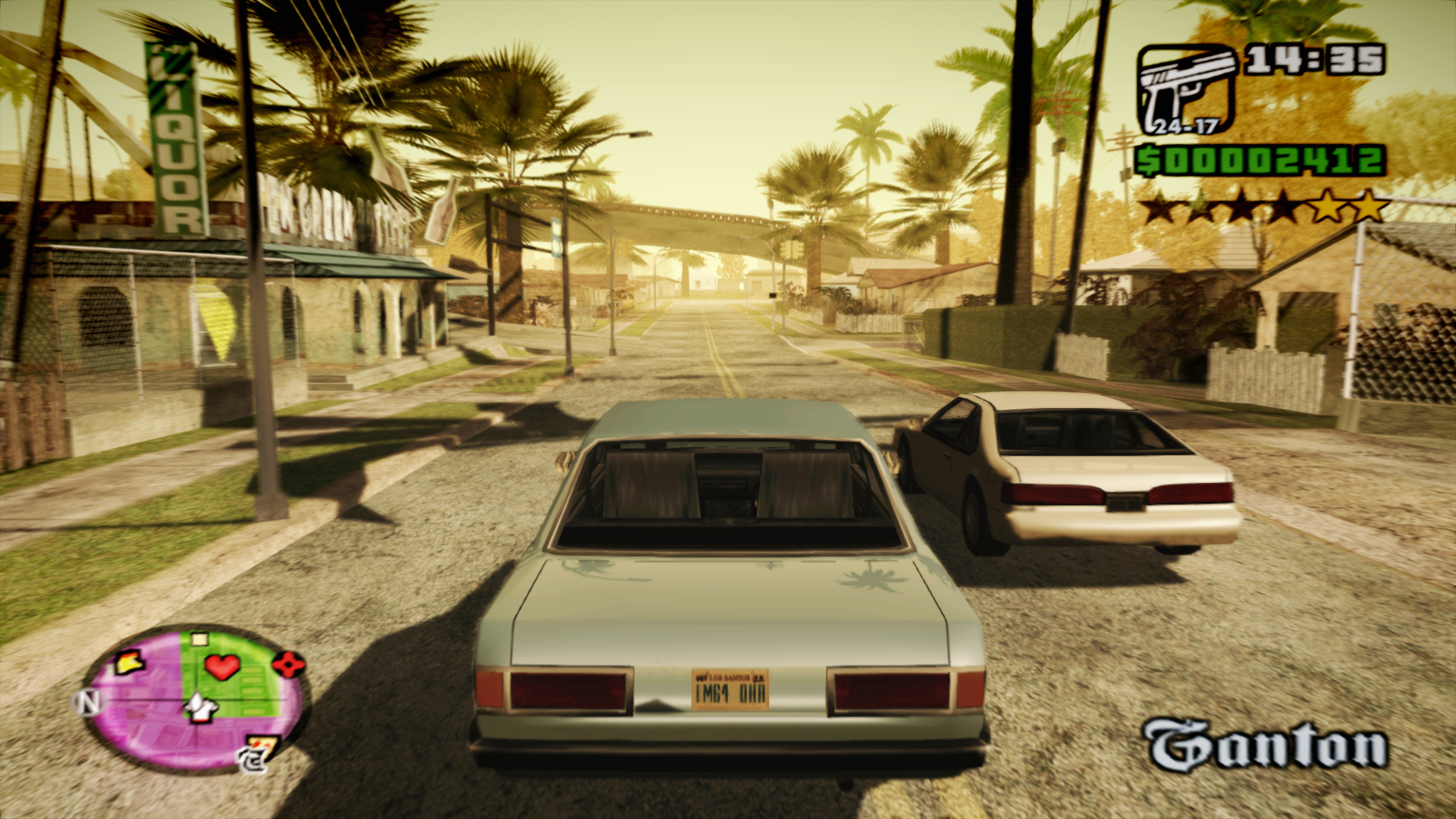 gta san andreas gta 5 graphics mod pc