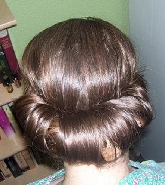 Haarrolle frisur
