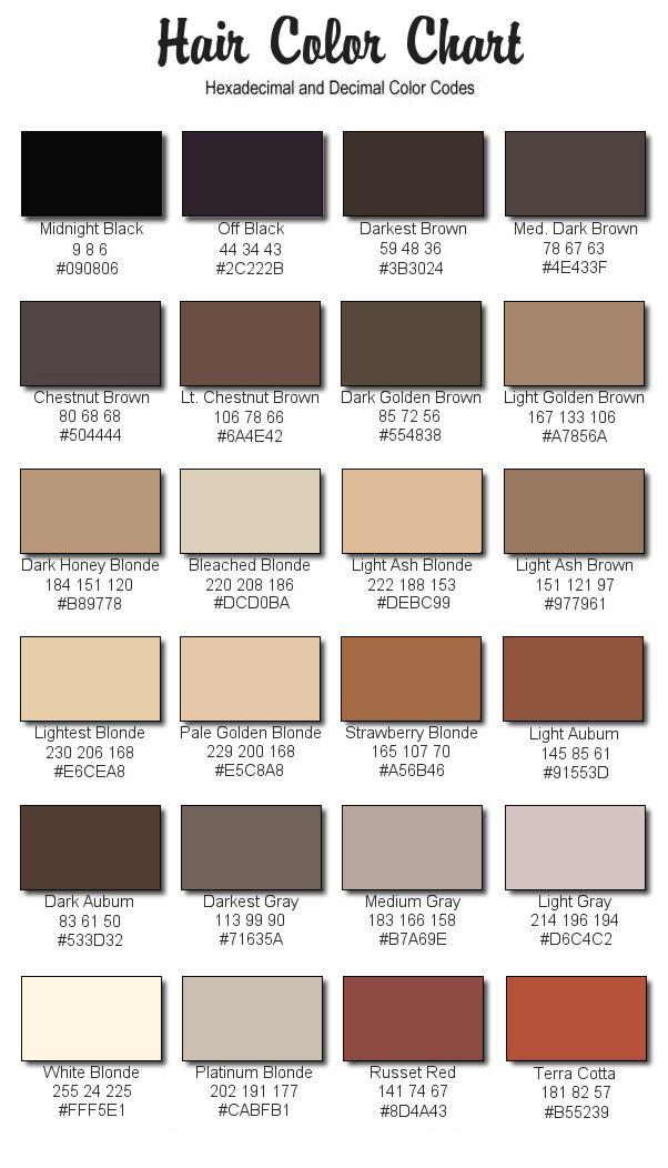eos haarfarbe farbpalette modische frisuren f r sie foto blog. Black Bedroom Furniture Sets. Home Design Ideas