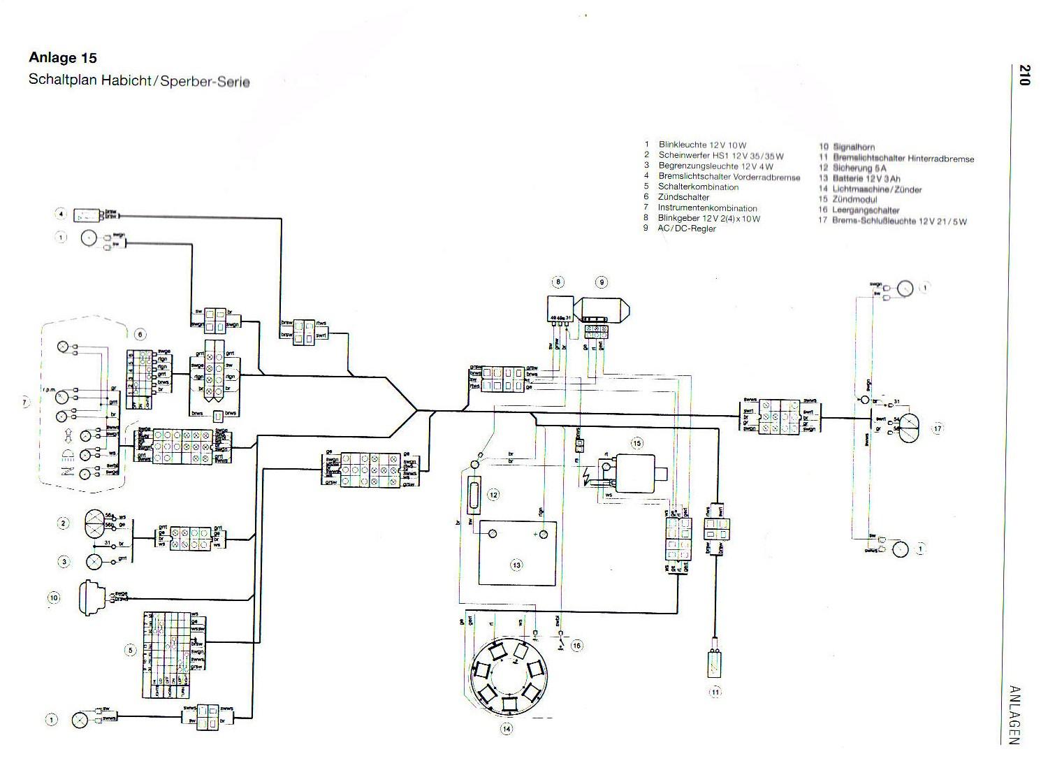 Ziemlich Gm Blinkerschalter Schaltplan Ideen - Elektrische ...