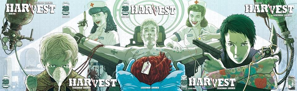 Harvest #1-5 (2012-2013) Complete