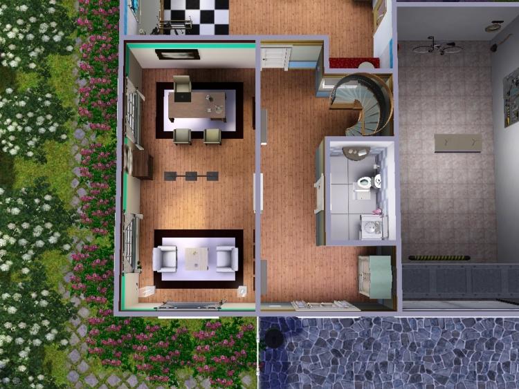 vorstellung kleines haus mit garten das gro e sims 3 forum von und f r fans. Black Bedroom Furniture Sets. Home Design Ideas