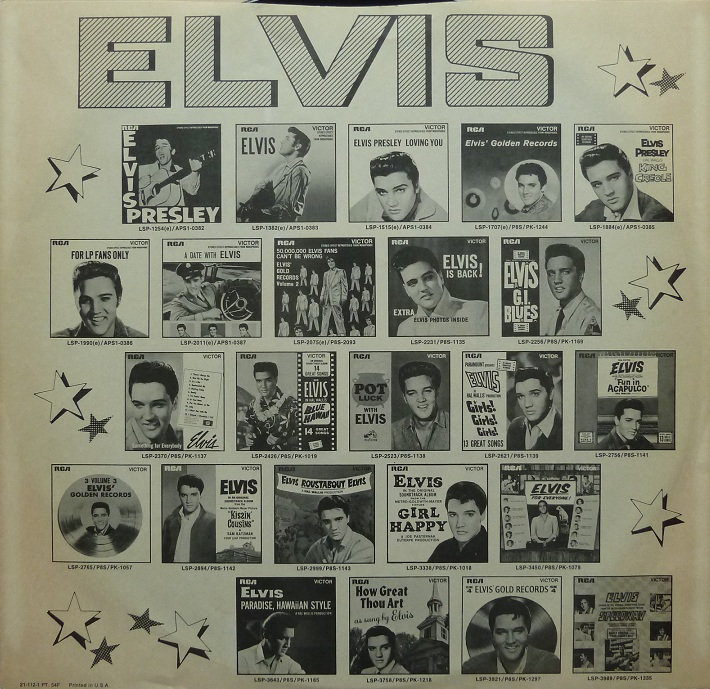 HAVING FUN WITH ELVIS ON STAGE (RCA) Havingfunus78inneersl20ydn