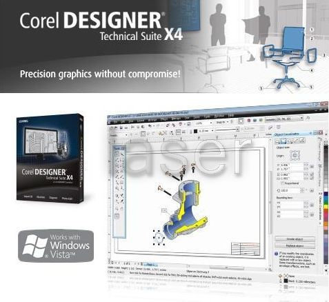 Corel Designer Technical Suite X4 Multilingual