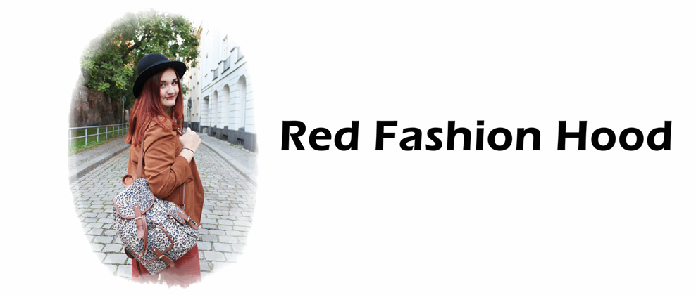Red Fashion Hood