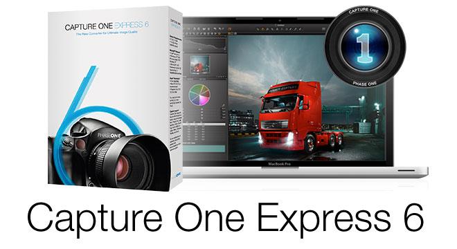 Software: Capture One Express 6 kostenlos downloaden – Fotobearbeitungssoftware