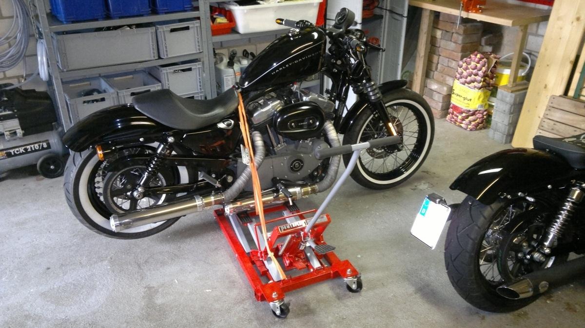 rob s rod umbau und wartung xl nightster seite 13 harley davidson motorrad online24. Black Bedroom Furniture Sets. Home Design Ideas