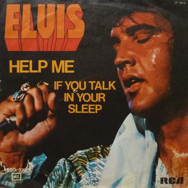 Help Me / If You Talk In Your Sleep Helpmefrontpnu15