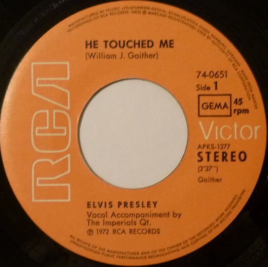 He Touched Me / The Bosom Of Abraham Hetouchedside1zm7cb