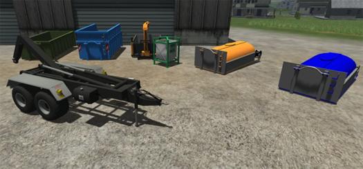 Fliegl Hakenlift System