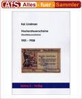 Kai Lindmann Katalog Hockersteuerscheine 1921 - 1938