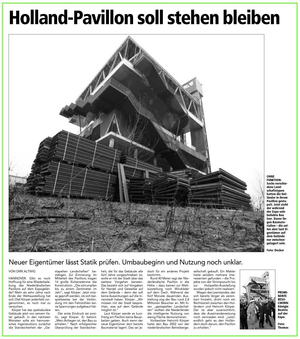 Holz Pavillon Messe Hannover ~ Hannover  Messe & EXPO Gelände  Kronsberg  Page 6  SkyscraperCity