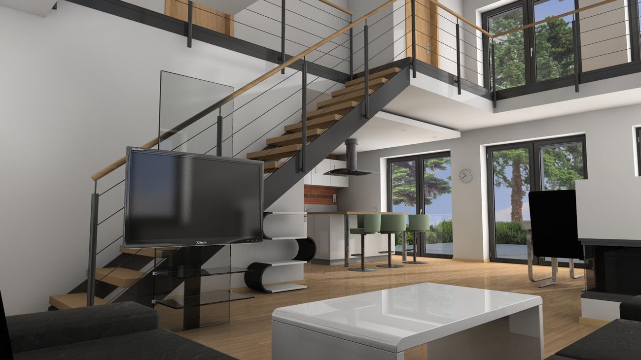 architektur rendering beleuchtung au en vs innen seite 2 c4d professional. Black Bedroom Furniture Sets. Home Design Ideas