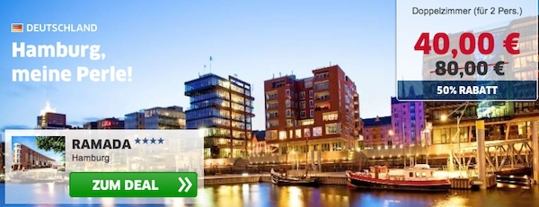 HRS Deals Hamburg Ramada Hotel