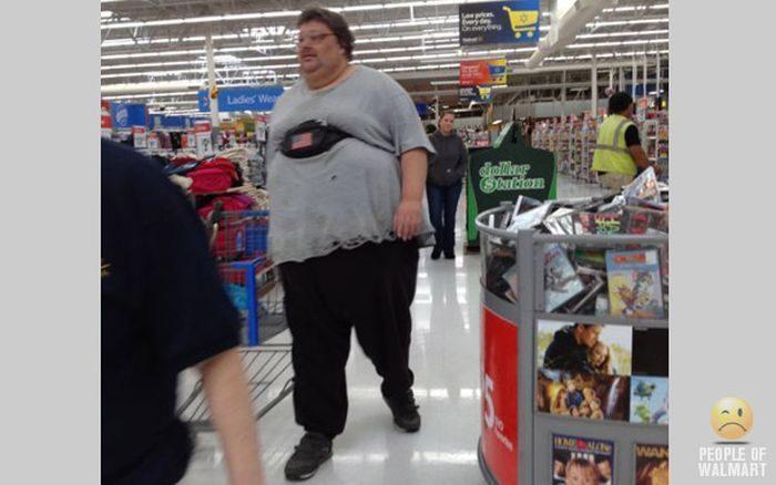 Najdziwniejsi klienci z WalMart #17 3