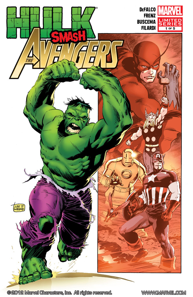 Hulk Smash Avengers 1-5 (2012) Complete