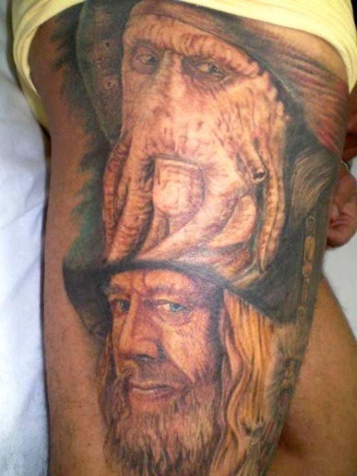 Nietypowe tatuaże 1