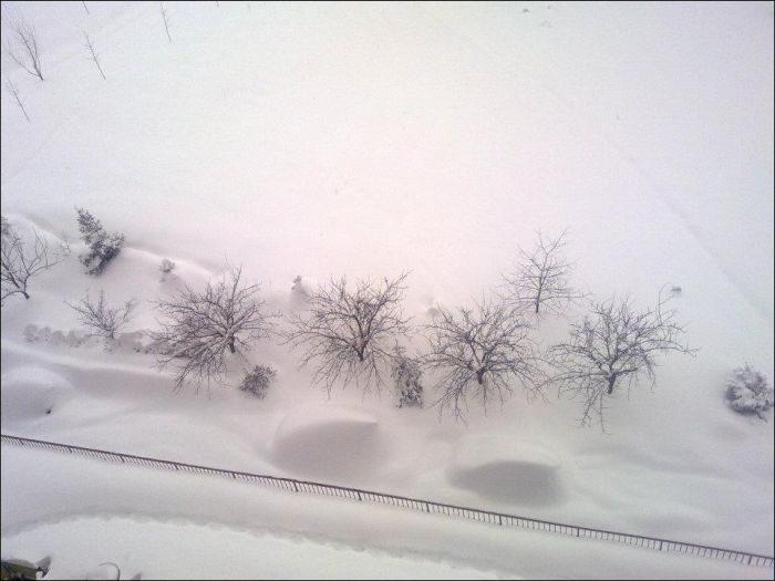 Śnieżna zima 9