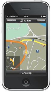 T Mobile schenkt allen iPhone Kunden Navisoftware von Navigon   UPDATE handy  idzdk