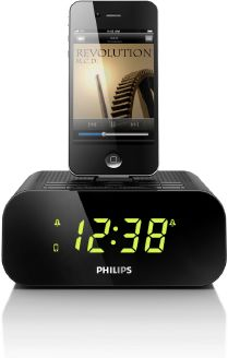 Philips Radio -Dockingstation AJ3270 iphone ipod