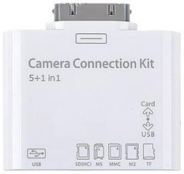 ebay: 5in1 Camera Connection Kit mit USB Adapter für das Apple iPad für nur 3,65€ inkl. Versand - Memory Card Reader