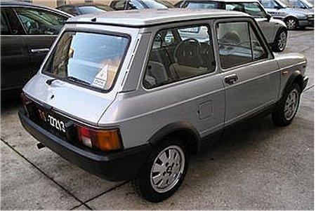 The New Cars Zone: 1984 Lancia Autobianchi A112