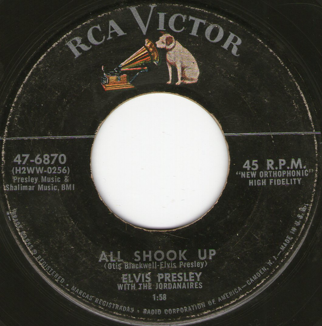 All Shook Up / That's When Your Heartaches Begin Img12580e3g