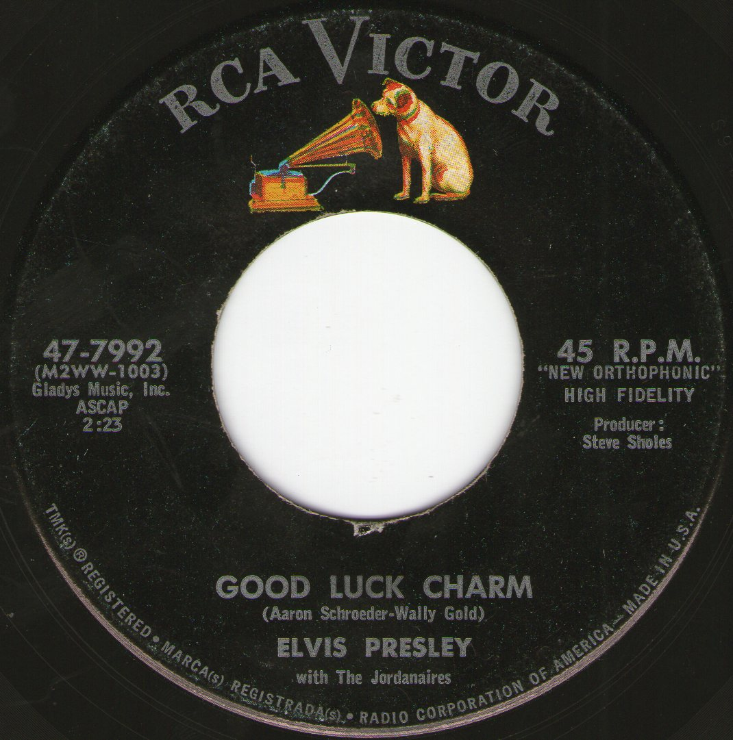 Good Luck Charm / Anything That's Part Of You Img216szfj6