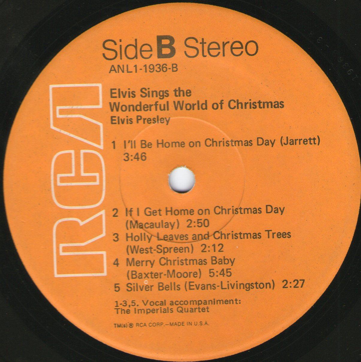 ELVIS SINGS THE WONDERFUL WORLD OF CHRISTMAS Img44097ssj
