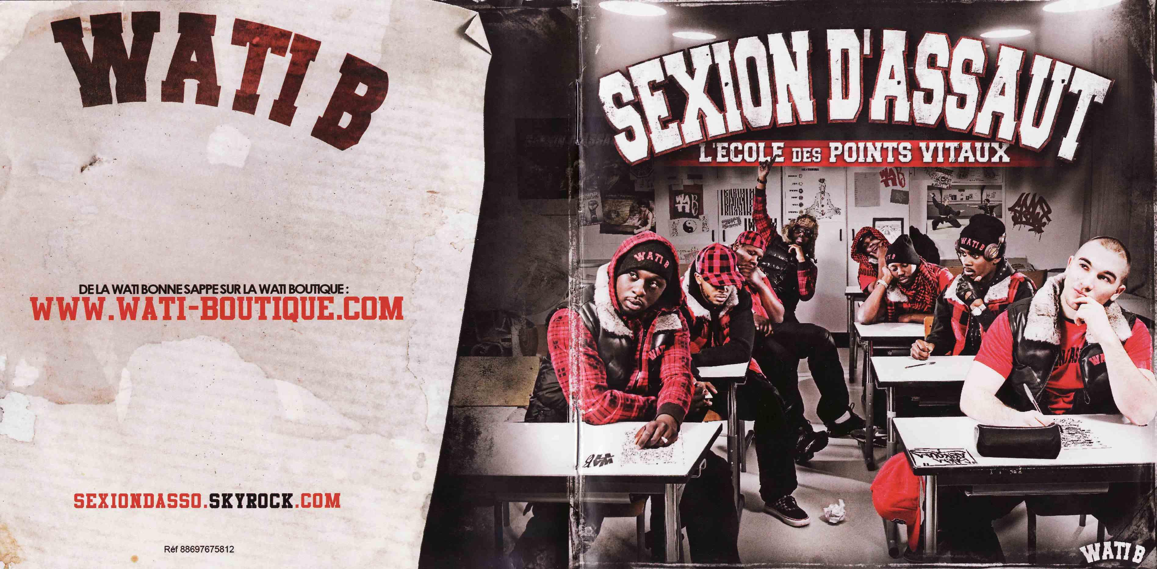 Sexion D'Assaut - L'Ecole Des Points Vitaux (2010)