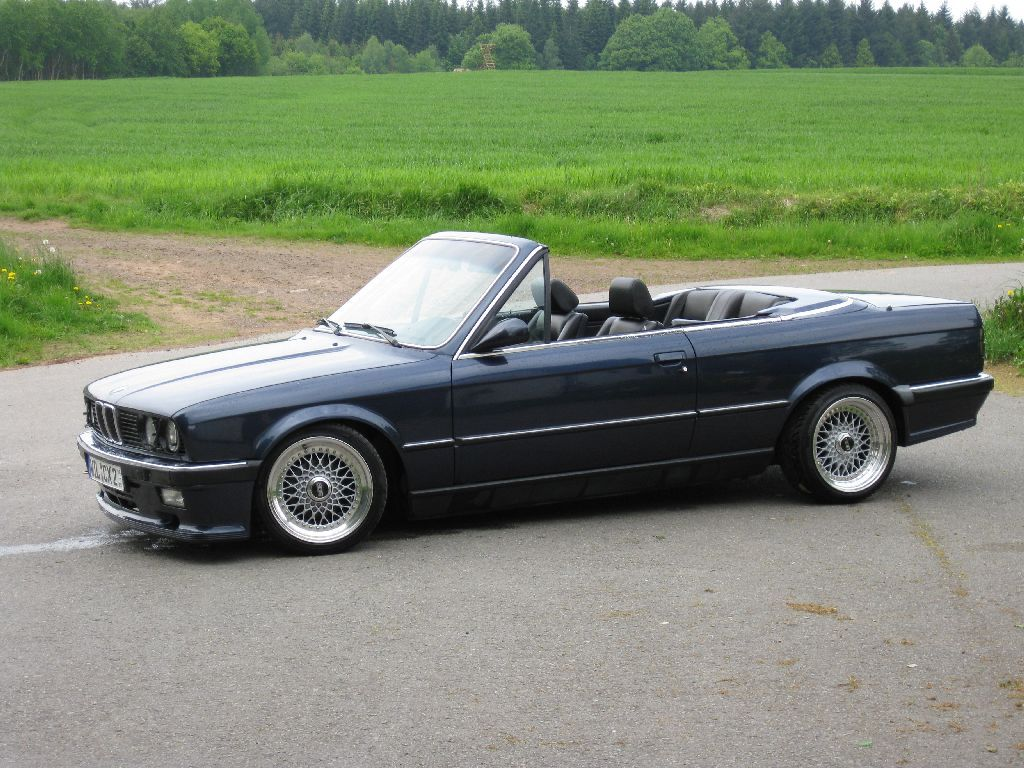 revidieren 09 10 e30 325i cabrio bbs m tech vfl 3er bmw. Black Bedroom Furniture Sets. Home Design Ideas