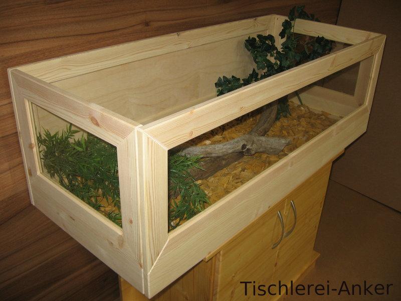 schildkr ten terrarium 120 50 40cm aus holz landschildkr ten m use. Black Bedroom Furniture Sets. Home Design Ideas