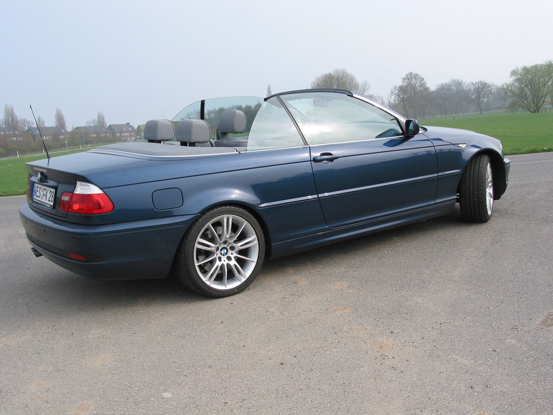 330 cia facelift cabrio in mysticblau e46 cabrio bmw. Black Bedroom Furniture Sets. Home Design Ideas