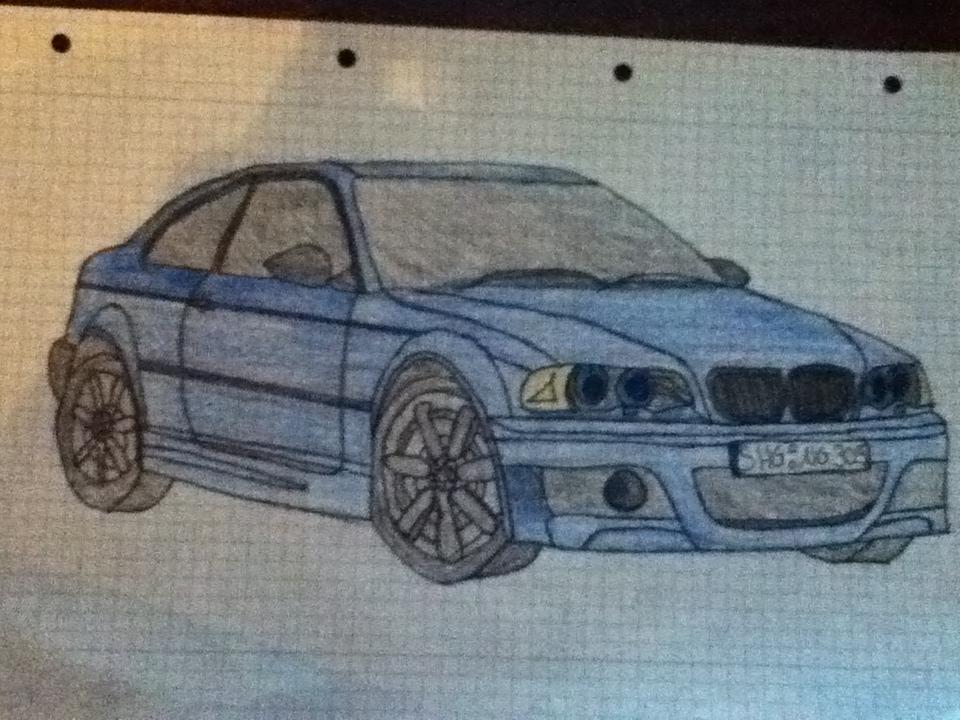 Forum » OffTopic » Eure Zeichnungen von Autos.. - Eleven-Games