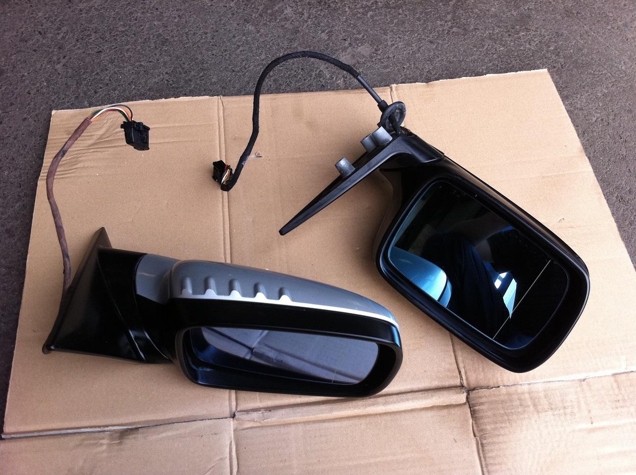 e46 coupe cabrio aussenspiegel titansilber memory. Black Bedroom Furniture Sets. Home Design Ideas