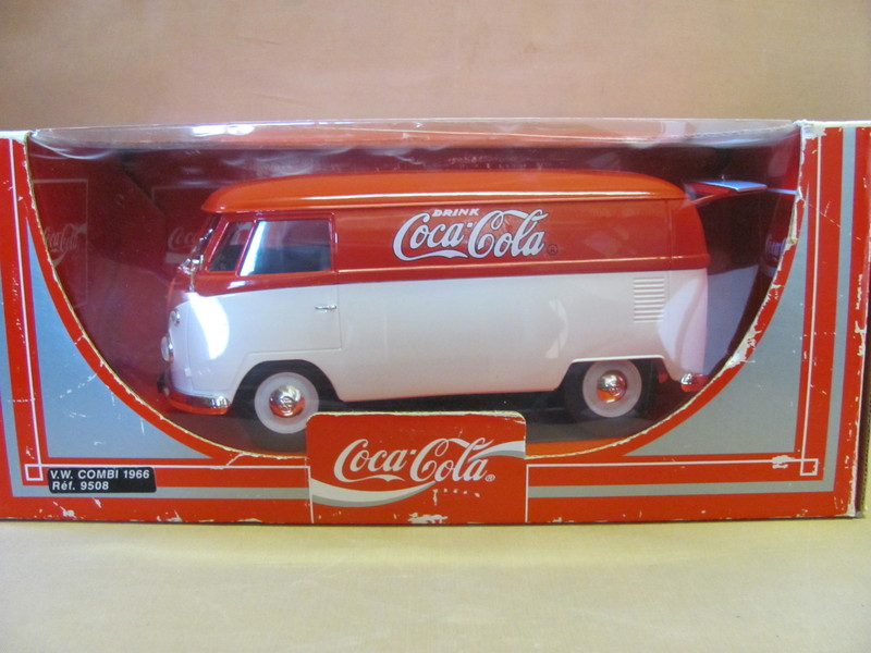 vw combi 1966 bulli coca cola solido ma stab 1 19 ref 9508 in ovp ebay. Black Bedroom Furniture Sets. Home Design Ideas
