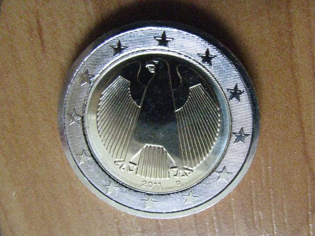 Fehlprägung 2011 2 D Deutschland