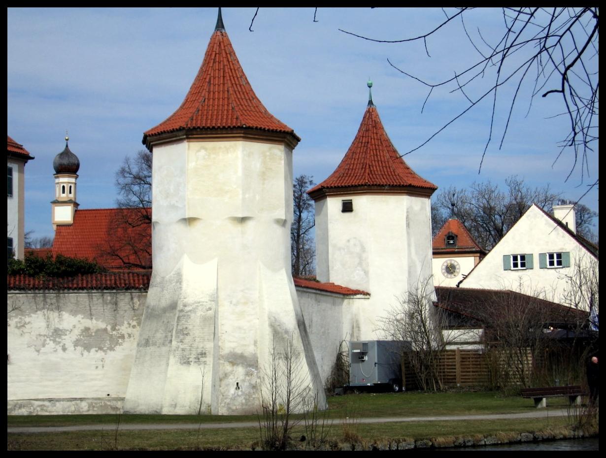 München - Schloss Blutenburg (Galerie) - BY / Reg.bez. Oberbayern ...