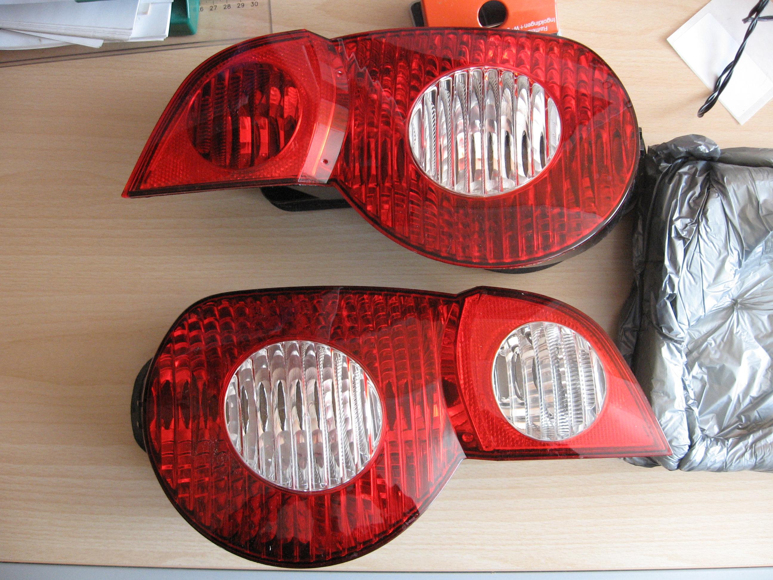 Bmw Z4 E85 R 252 Ckleuchten Rot Wei 223 Zroadster Com Bmw Z1