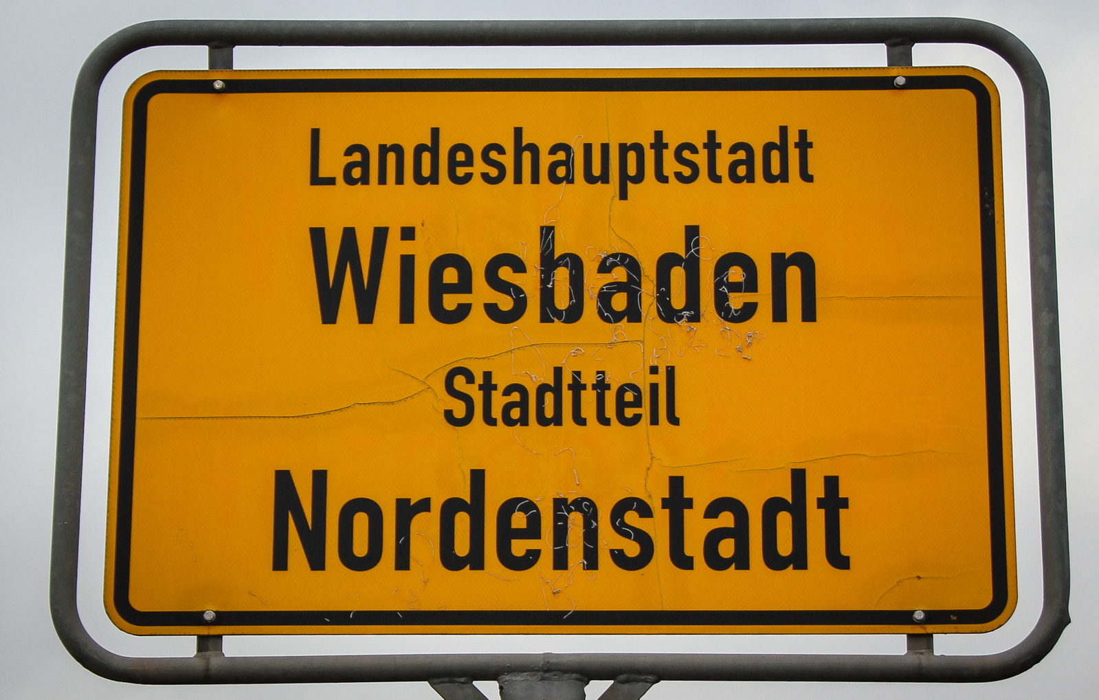Nordenstadt-Ortsschild