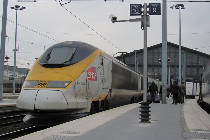 parijs per trein