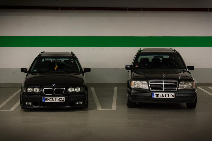 Complete Opposites E36 Vs W124