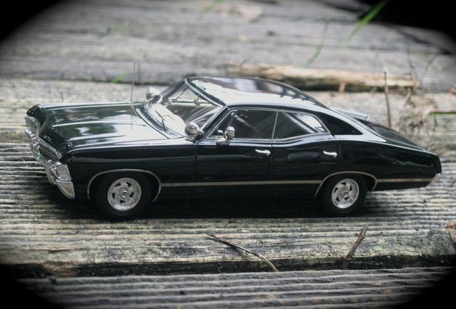 chevy impala supernatural und gulf mclaren zwei neuheiten von truescale modelcarforum. Black Bedroom Furniture Sets. Home Design Ideas