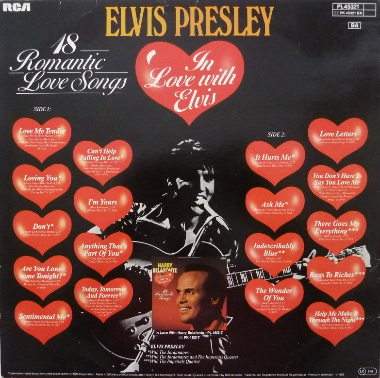IN LOVE WITH ELVIS - 18 ROMANTIC LOVE SONGS Inlove18rckseitep5agp
