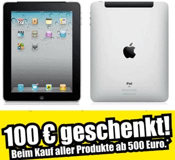 ipad 100 euro