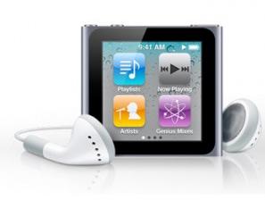 Conrad: Apple iPod nano 6.Gen mit 8GB Speicher graphite für nur 100,90€ inkl. Versand