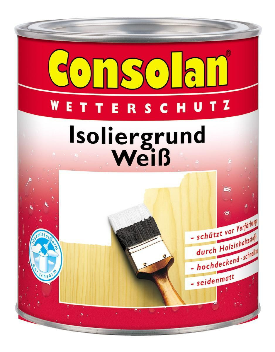 consolan consolan isoliergrund wei 2 5 liter neuware art nr 5087456 ebay. Black Bedroom Furniture Sets. Home Design Ideas