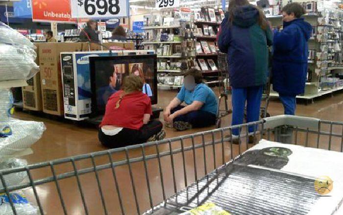 Najdziwniejsi klienci z WalMart #15 3