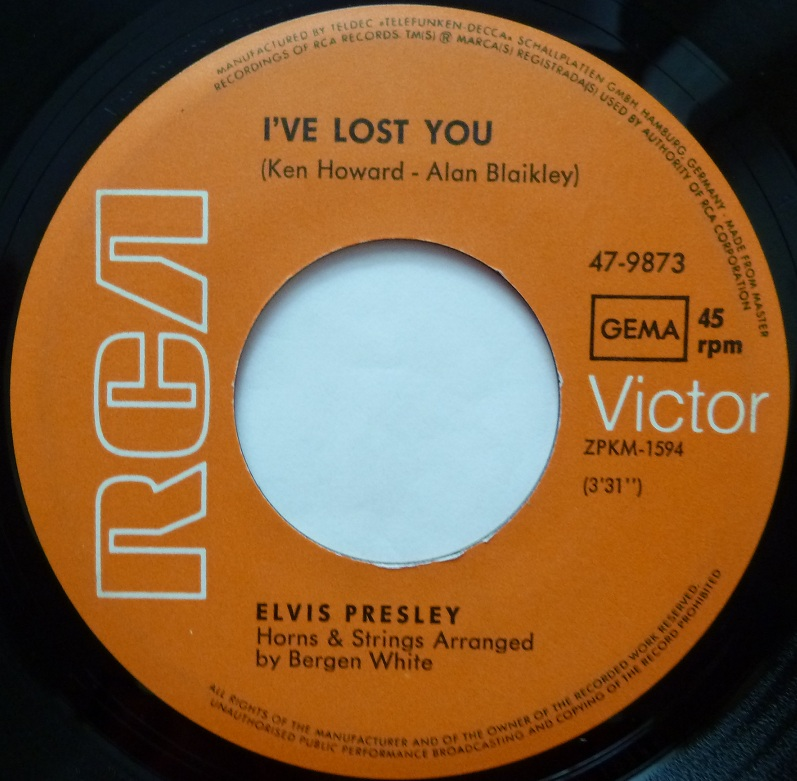 I´ve Lost You / The Next Step Is Love Ivelostyouside1hm7t7