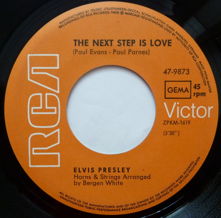 I´ve Lost You / The Next Step Is Love Ivelostyouside2b5ual